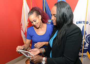 VA health care team members at the Miami VA Healthcare System are finding ways to comply with the Paperwork Reduction Act by using VA-issued mobile devices (tablets) to cut printing costs, save time and increase their productivity for a number for tasks that were previously paper-based