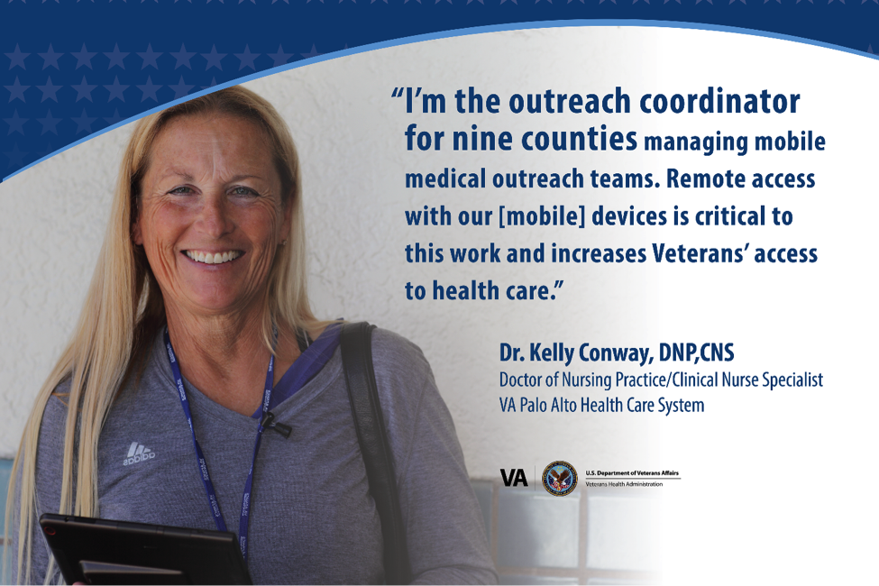 VA Recently surveyed more than 1,800 Mobile Health Provider Program participants at 18 different locations about how they are using their VA-issued mobile devices to support care delivery to Veterans.