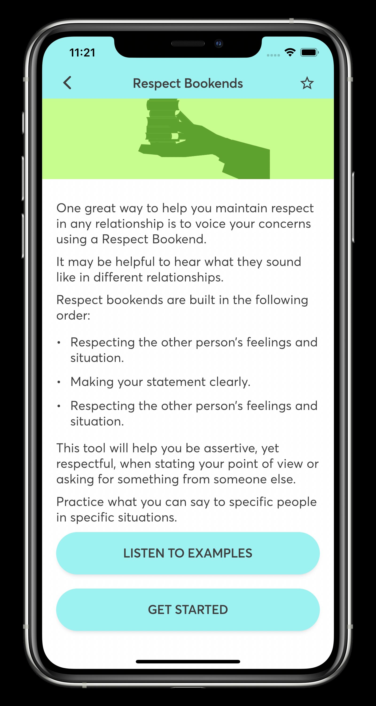 STAIR Coach Respect Bookends Screen