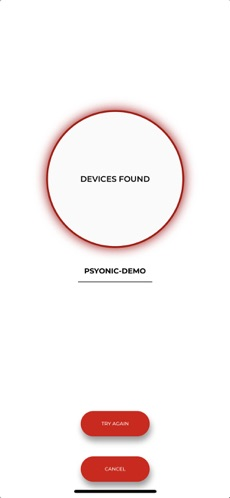 PSYONIC ABILTY Hand Devices Found Screen